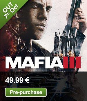 Mafia III (PC) Vorbestellung für 40€