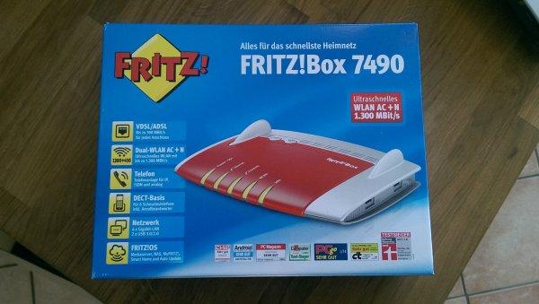 eBay: AVM Fritz!Box 7490 | Neu und OVP