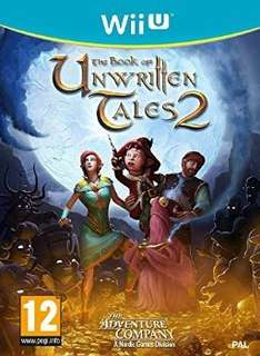[base.com] The Book of Unwritten Tales 2 [Wii U] für 17,38€ inkl. Versand