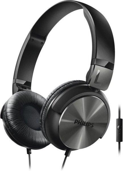 [Mediamarkt] Philips SHL3165BK/?00 On-Ear-Kopfhörer (Mikrofon, 32 mm Neodym-Treiber, DJ-Monitoring) schwarz für 14,50€ Versandkostenfrei