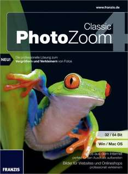 [PC/MAC] PhotoZoom 4 Classic gratis statt 24,99 €