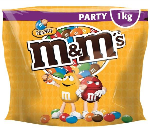 [Amazon Prime] M&M Peanuts 1kg für 7,99€