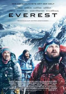 [Wuaki] 7 HD Filme je 0,99€ z.B. Everest, Aloha