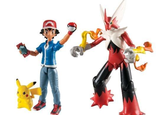 Pokémon Heldenset: 2xAsh & Pikachu, 2x Mega Blaziken für 12,95€@ Dealclub