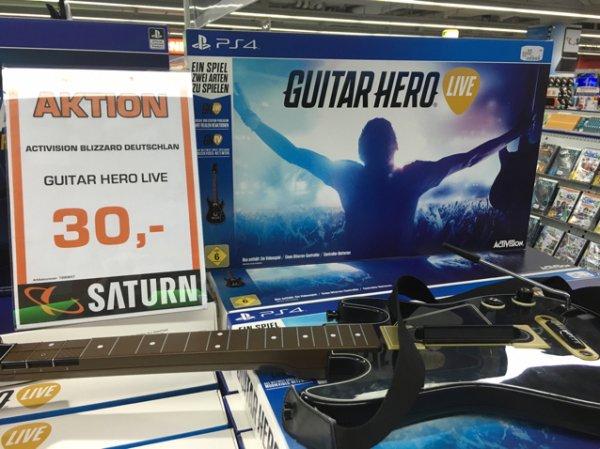 [Saturn Mülheim an der Ruhr] Guitar Hero Live PS4 und XBox