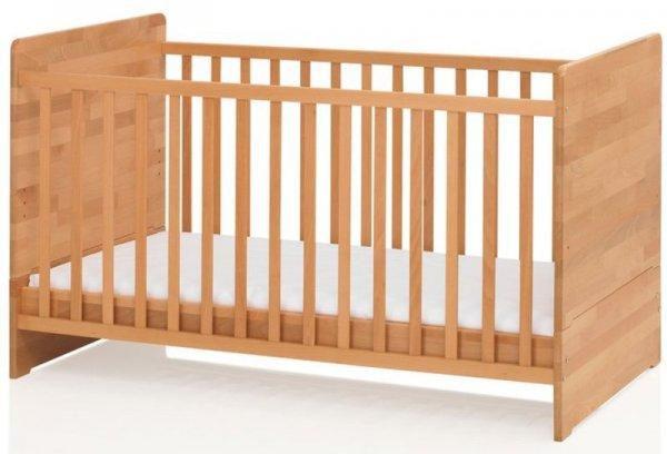 """Kinderbett Babybett """"Leon""""  Fa. Herlag , 140 x 70 cm BUCHE"""