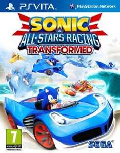[base.com] Sonic & All-Stars Racing Transformed [PS VITA] für 17,34€ inkl. Versand