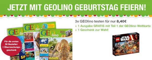 Lego Star Wars - Rebel Alliance Battle Pack (75133) für 8,40 € über Geschenk-Probeabo GEOlino 45% Ersparnis