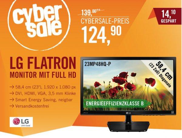 "LG Flatron 23MP48HQ-P für 124,90€@ Cyberport - 23"" FullHD Monitor"