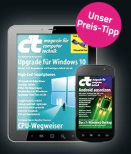 (Studenten) 3x c't Digital für effektiv 1,75€ oder 3 Hefte für effektiv 3,70€, danach dauerhaft 50%