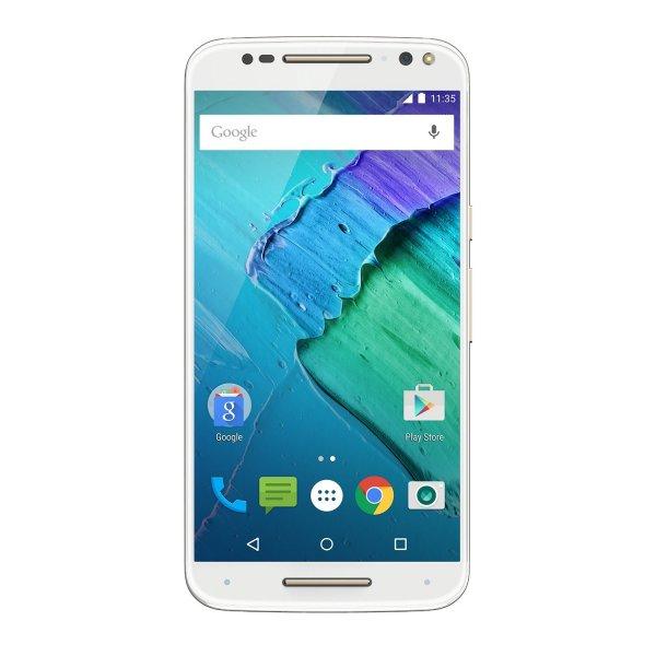 "[Amazon] Motorola Moto X Style Weiss 5,7"" QHD, 21MP Kamera, Snapdragon 808, 32GB erweiterbar, 3GB RAM, Stereolautsprecher, 3000mAh Akku mit Quickcharge, Android 6.0"