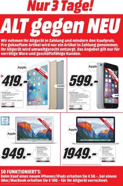 [Mediamarkt Heilbronn] (100€ Rabatt) MediaMarkt Apple MacBook Pro Retina 256 GB SSD 8 GB RAM (MF840D/A)