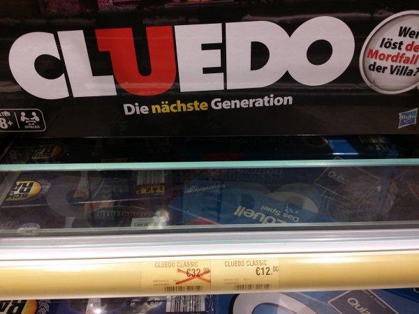 [LOKAL] Karstadt Dresden Cluedo 12 € My Monopoly 6 € und mehr