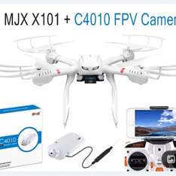 MJX X101 2,4GHZ RC DRONE Fpv Drohne für20€