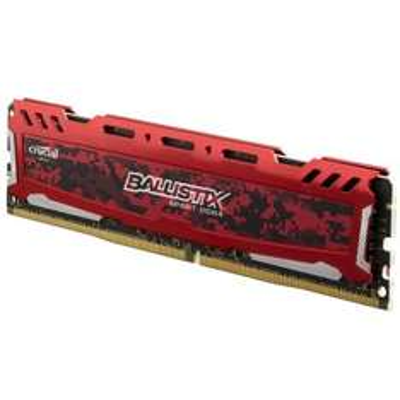 8GB Crucial Ballistix Sport LT Red DDR4-2400 UDIMM