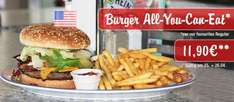 Burger - All You Can Eat, für nur 11,90 € bei Miss Pepper am 25.&26.04