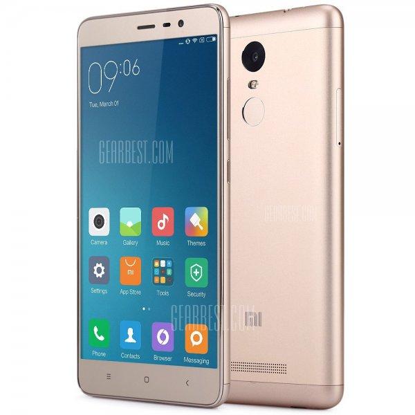Xiaomi Redmi Note 3 Pro - 32GB, 3GB RAM, 5,5 Zoll, Dual-SIM, 16MP, Fingerabdrucksensor für 219€ aus EU-Lager bei Gearbest