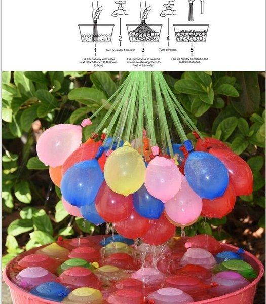 Water balloon bunch für 1,50€ @Wish