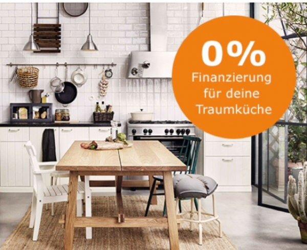 Ikea 0% Finanzierung  für Küchen