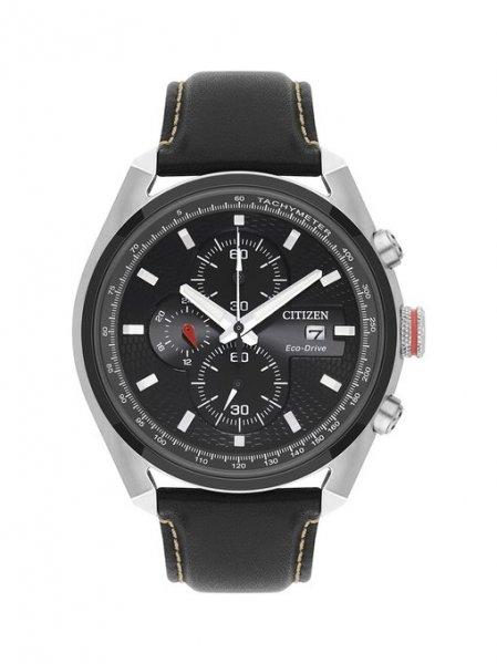 Citizen Herren Eco Drive Uhr (CA0369-29E) mit schwarzem Zifferblatt Analog-Anzeige und schwarz Leder Armband für ~ 118,89 € > [amazon.uk]