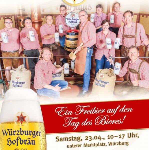 [Lokal Wü] Freibier am 23.04.