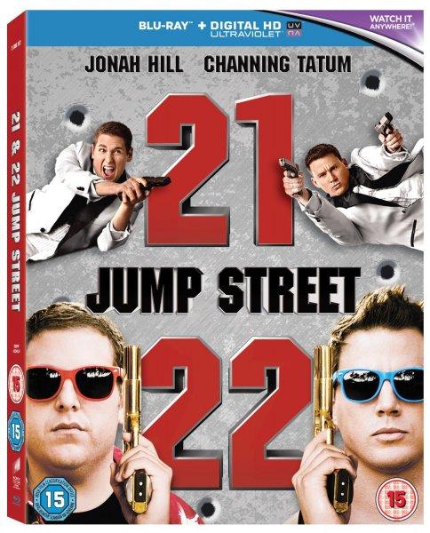 21 Jump Street/22 Jump Street Double Pack [Blu-ray+ UV Copy] mit O-Ton inkl. Vsk für 6,95 € > [base.com]