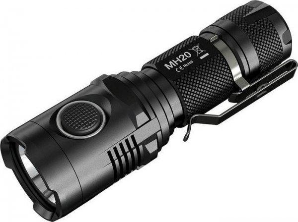 [BG] Taschenlampe NiteCore MH20 – Neutral White – mit integr. USB-Ladegerät, 1000 Lumen (Update: Ersparnis ca. 40 % – Dank an Rodja)