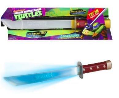[Amazon Prime] Teenage Mutant Ninja Turtles - Leonardo's elektrisches Tarn Schwert (englische Sprachausgabe) für 10,90€ statt ca. 25€