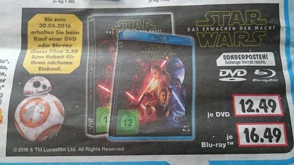 Kaufland Bluray Star Wars für effektiv 14 €