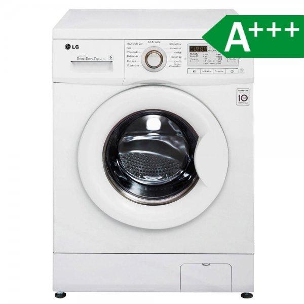 LG Electronics F 14B8 QDA0H Waschmaschine FL / A+++ / 122 kWh/Jahr / 1400 UpM / 7 kg / 9300 L/Jahr / 6 unterschiedliche Trommelbewegungen / weiß
