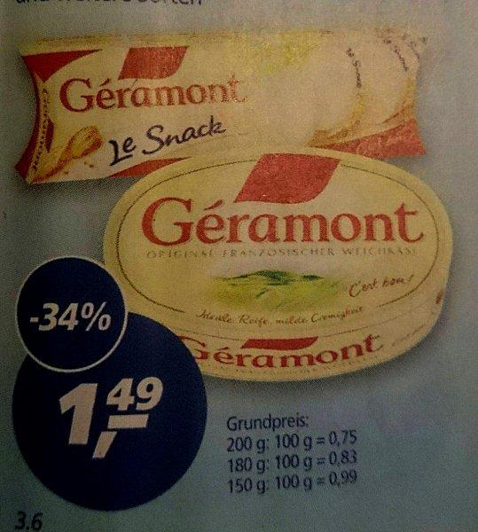 """[real] KW17: Géramont """"Cremig-Leicht"""" und """"Le Snack"""" für 0,99 Euro (-50%)"""