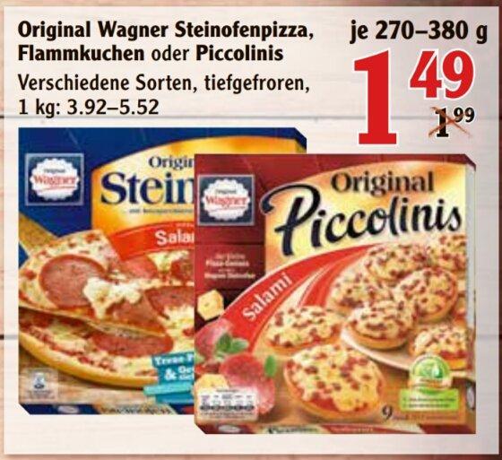 [Globus Kaiserslautern + weitere Globusmärkte] KW 17 Wagner Steinofenpizza, Flammkuchen oder Piccolinis