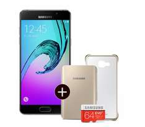 Samsung A5 (2016) für 299,90€ in schwarz/gold inkl. Samsung Mehr ExtrA mit der Galaxy A-Serie