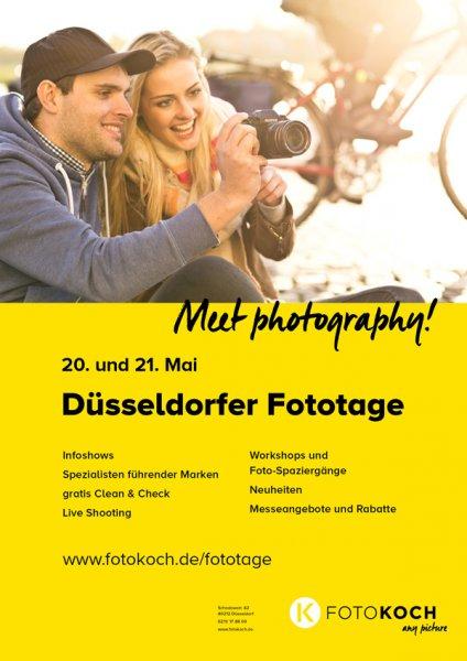 Düsseldorfer Fototage 20. und 21. Mai 2016 mit CLEAN und CHECK