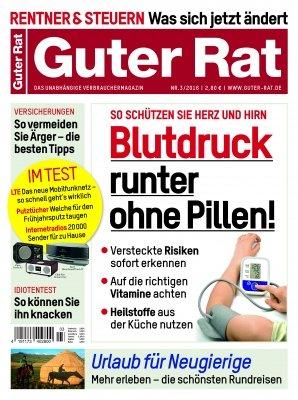 """Verbrauchermagazin """"Guter Rat"""" Jahresabo für effektiv 6,20 Euro + Freiheft bei Bankeinzug"""