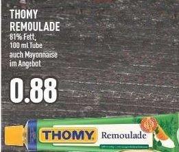 [Edeka Rhein-Ruhr] KW17: 5x Thomy Remoulade/Mayonnaise 100ml für 0,48€/Tube (-60%)