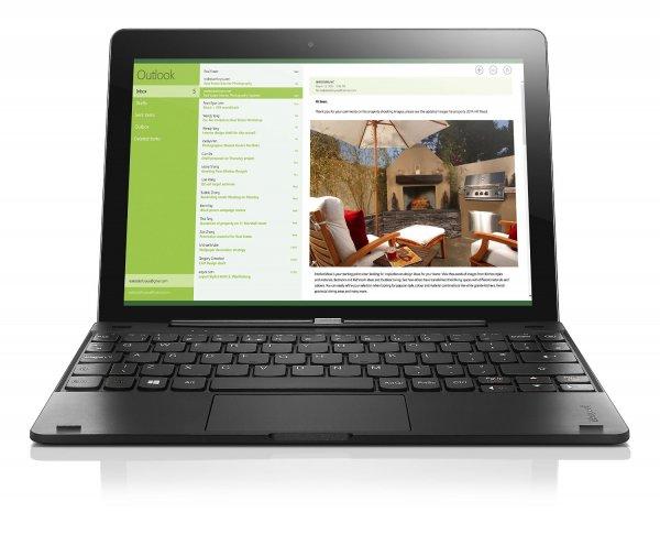 Lenovo Miix 300 Windows 10 Tablet mit Tastatur Intel Atom 4x1,83GHz 2GB RAM [Amazon WHD]