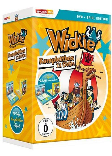 Wickie und die starken Männer - Komplettbox (12 Discs, Spiel-Edition) @ Amazon