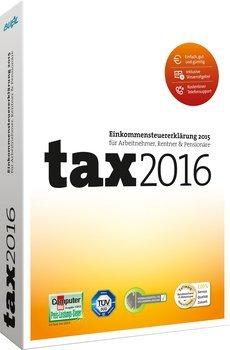 Buhl Data tax 2016 (auch für Selbstständige/Gewerbe) - für Steuererklärung 2015 als CD-Version für 7,99€ bei Notebooksbilliger