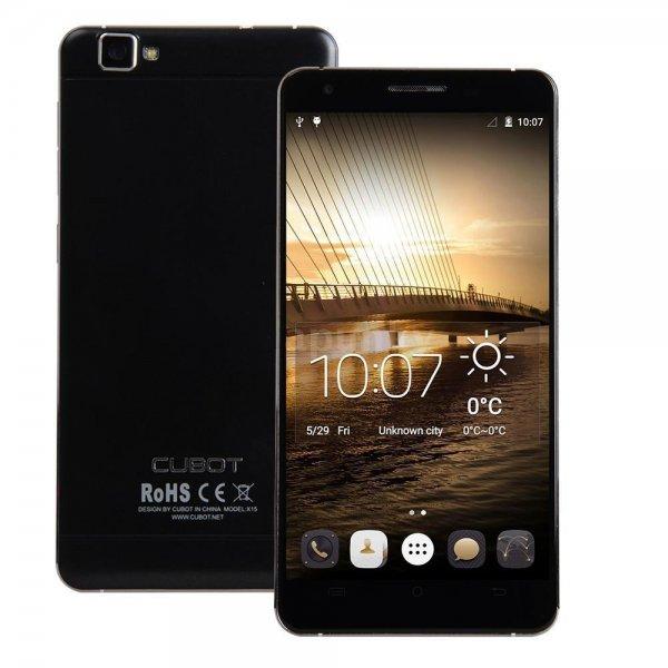Cubot X15 LTE 16GB Speicher, 2GB RAM MTK6735 1.3GHz 64Bit Quad-core 1920×1080