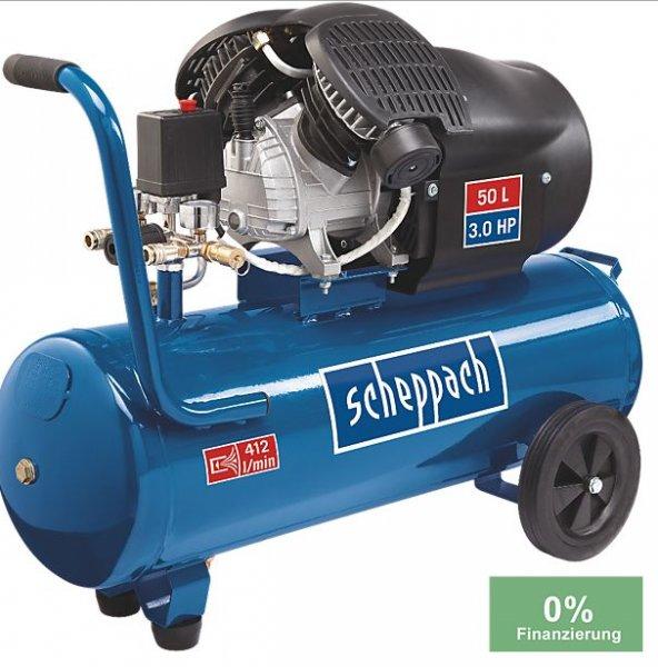 Scheppach HC53dc Kompressor 10Bar / 50L / PVG 254,90€