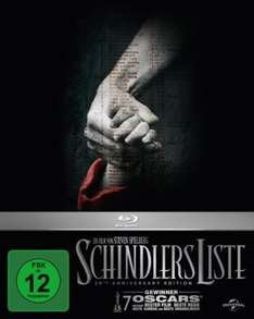 Schindlers Liste - 20th Anniversary Edition [Blu-Ray] via Amazon Prime
