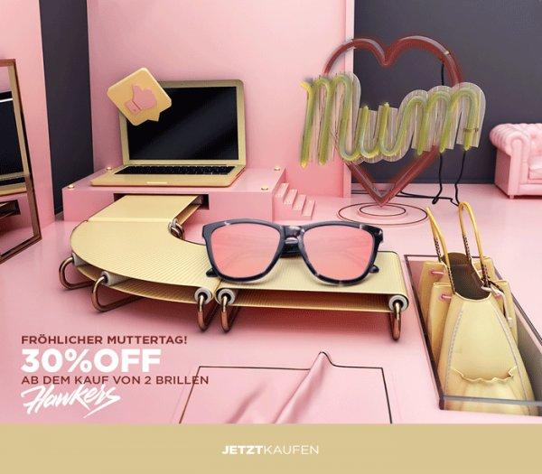 Hawkers Sonnenbrillen - 30% Rabatt beim Kauf von min. 2 Modellen