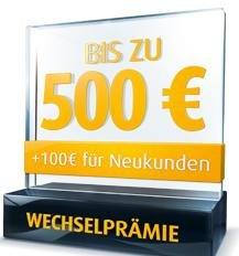 Zwischen 100 EUR und 600 EUR für Depoteröffnung und Wertpapierübertrag bei Comdirect