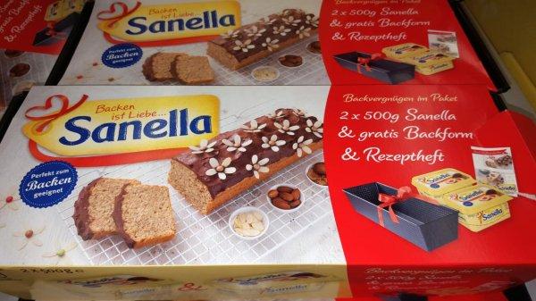 [KAUFLAND] 2x Sanella Steich-/Backfett 500g Doppelpack inkl. gratis Kuchenbackform und Rezepte für 1,50€