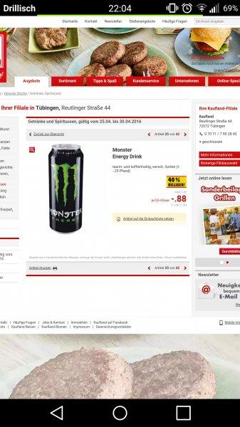 [Kaufland] Monster Energy für 0,88€
