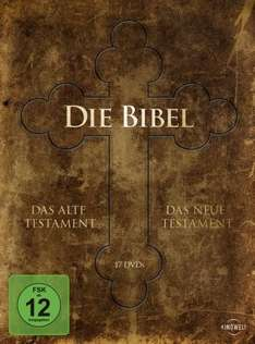 [Amazon] Die Bibel - Gesamtedition (Alte Testament/Neue Testament) [17 DVDs]