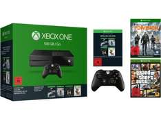 [Mediamarkt Online] MICROSOFT Xbox Sparket 16 - Xbox One 500GB Konsole + 2 Xbox Controller + The Division, GTA5 + 4. Spielauswahl