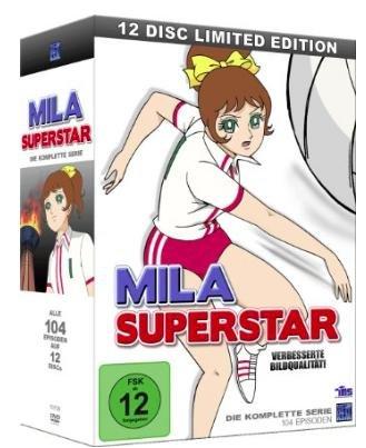 [Amazon Prime] Mila Superstar - Die komplette Serie (alle 104 Episoden) [12 Disc Gesamtbox] [Limited Edition] [12 DVDs], Spielzeit 2400 Minuten für 49,97€ statt ca. 60€