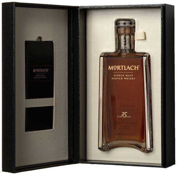 Mortlach 25 Jahre Malt Scotch Whisky >> 0,5L für 499€ = Glas 100 €!!
